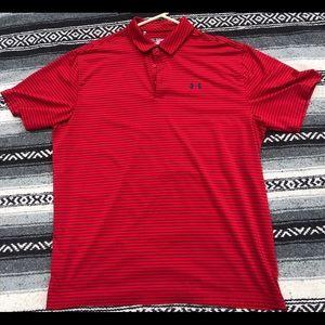 Under armour golf t shirt